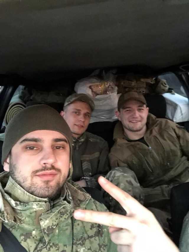 Євген Дейдей разом із Ростіславом Чернобровим