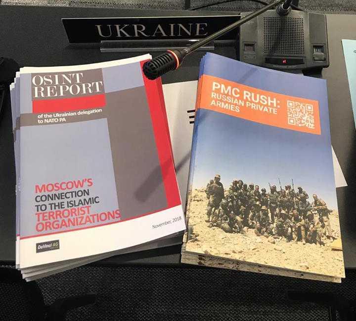 Отчет о российских ЧВК, представленный на ПА НАТО, появился в открытом доступе